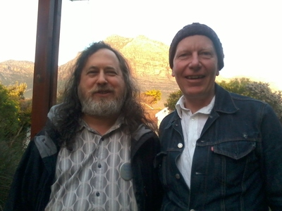 Richard Stallman visits Cape Town /static/South_Africa/StallmanAndI.jpg