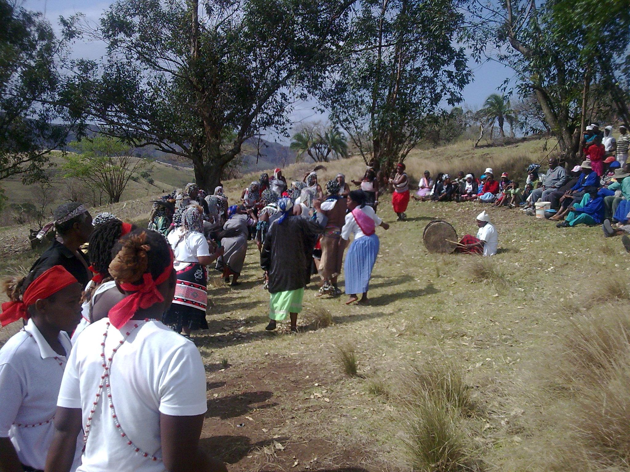 Annual Sangoma ceremony in Zululand /static/Zulu/Image038.jpg