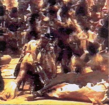 Ukweshwama - Zulu bull-killing ritual - Wizzy